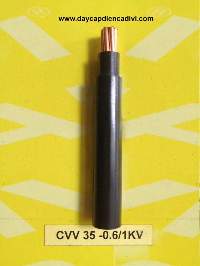CVV-35-0.6/1kV Cu/PVC/PVC