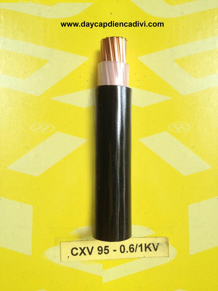 CXV-95-0.6/1Kv Cu/XLPE/PVC