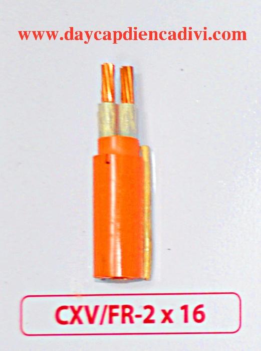 CXV/Fr-2x16 -0.6/1Kv Cu/XLPE-Fr/PVC
