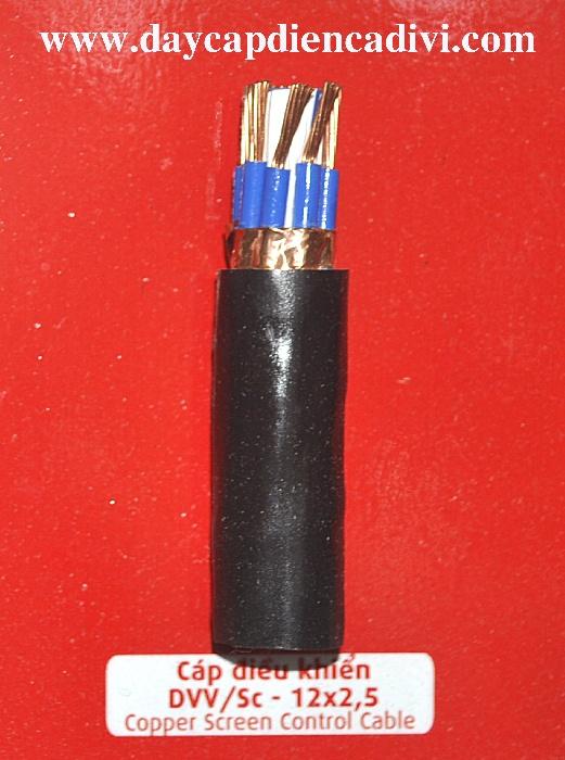 Cáp Điều Khiển DVV/Sc 12x2.5mm2