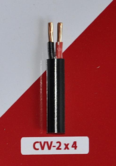 Cáp Nguồn CVV 2x4mm2-300/500V