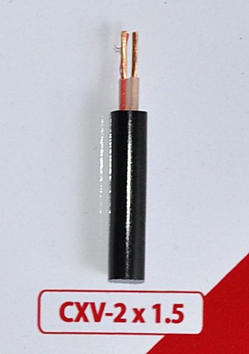 Cáp Nguồn CXV -2x1.5mm2 -0.6/1kV
