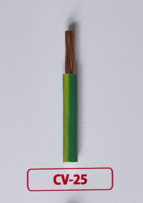 Dây Tiếp địa CV 25-/750V