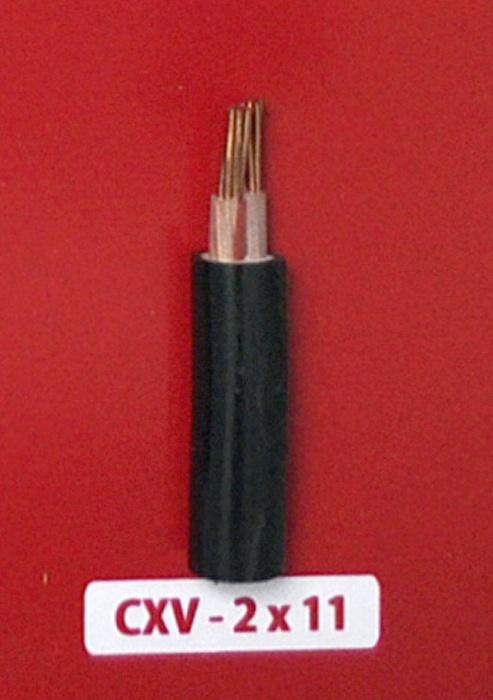 Cáp Nguồn CXV 2x11mm2 -0.6/1kV
