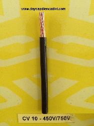 CV-10- 450/750V Cu/PVC