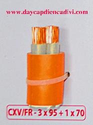 CXV/Fr-3x95+1x70 -0.6/1Kv Cu/XLPE-Fr/PVC
