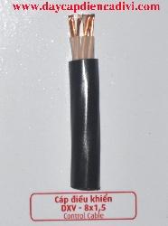 Cáp Điều Khiển DXV 8x1.5mm2