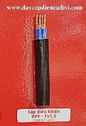 Cáp Điều Khiển DVV 7x1.5mm2