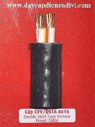 Cáp Ngầm CVV/DSTA 4x16mm2