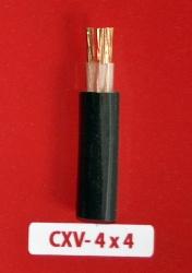 Cáp Nguồn CXV 4x4.0mm2-0.6/1kV