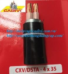 CXV/DSTA 4x35 -0.6/1kV