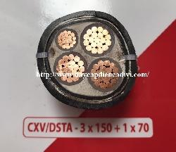 CXV/DSTA 3x150+1x70-0.6/1kV