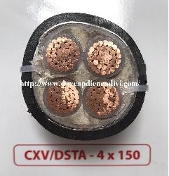 CXV/DSTA 4x150-0.6/1kV