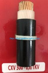 CXV 300-0.6/1kV CU/PVC