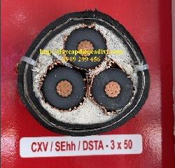 CXV/Sehh/DSTA 3x50-12,7/(20)24KV